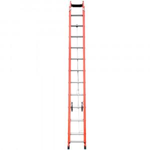 Escada Extensível Vazada 19 Degraus • FORTG ES000079