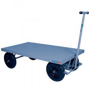 Carro Plataforma sem Abas 400 Kg com Rodas Pneumáticas • FG-094