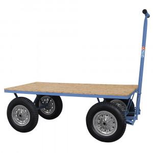 Carro Plataforma de Madeira 400kg • FG-1108