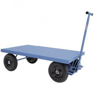 Carro Plataforma em Chapa de Aço 400kg • FG-1109