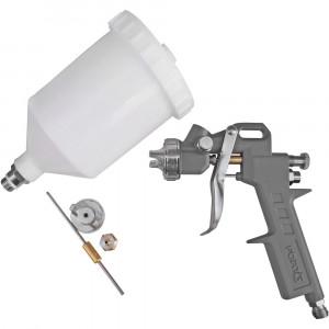 Kit Pistola de Pintura 600ml com 2 Jogos de Reparo e Bico 1.4mm • FG8680
