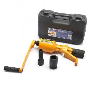 Desforcimetro Multiplicador de Torque Móvel  1 Pol. Torqueador 590Kgf + 2 Soquetes 32 e 33mm • FG8421