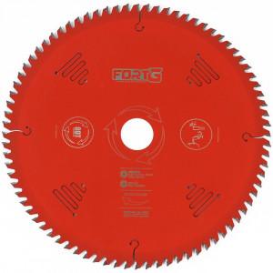 Disco de Corte para Serra Circular 250 x 30mm para Madeira com 80 Dentes • FG8328