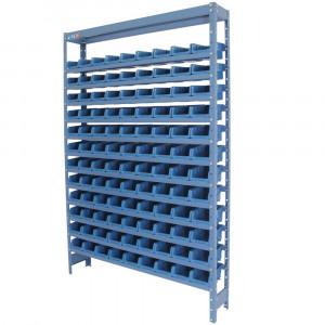 Estante Compacta com 108 Caixas Nº 3 Azul • FGE-108/3A