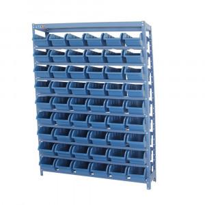 Estante Compacta com 54 Caixas Nº 5 Azul • FGE-54/5A