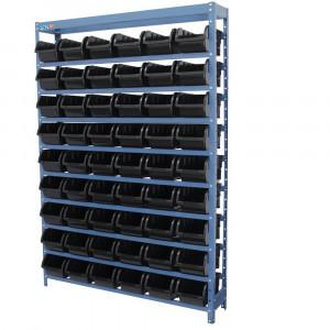 Estante Compacta com 54 Caixas Nº 5 Preta • FGE54/5P