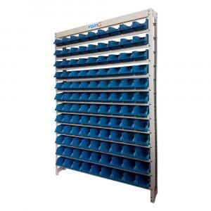 Estante Gaveteiro Organizador com 108 Gavetas Nº 3 Azul • 70004