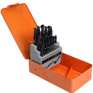Jogo de Brocas HSS Aço Rápido com 25 peças de 1 a 13 mm • FG8760