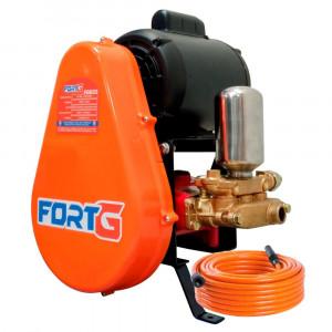 Lavadora de Alta Pressão Motor WEG 3CV 450 Libras 28L/min Trifásico 220/380V sem Carrinho • FG040