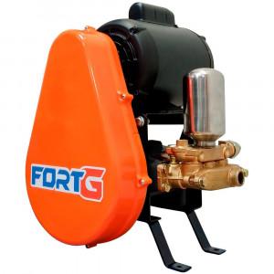 Lavadora de Alta Pressão Motor WEG 2CV 20 Litros/Min 450 Libras Trifásico 220/380V sem Carrinho • FG055