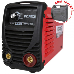 Máquina de Solda Inversora MMA130ED com Maleta 130A 110V • FG4125