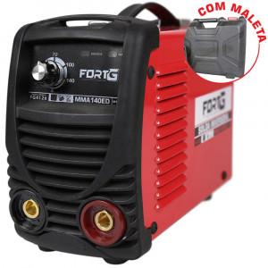 Máquina de Solda Inversora MMA140ED com Maleta 140A 220V • FG4126