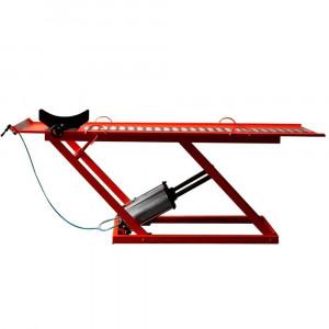 Rampa Pneumática Pit Stop 2 Pistões para Moto 350Kg Vermelha • 8811