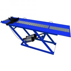 Rampa Pneumática Pit Stop 2 Pistões para Moto 350Kg Azul • 8812