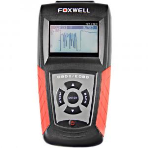 Scanner - Leitor de Códigos de Falhas Automotivo Foxwell - OBDII/EOBD e CAN • NT300