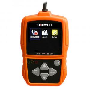 Scanner Leitor de Códigos de Falhas Automotivo Foxwell OBDII/CAN • NT204