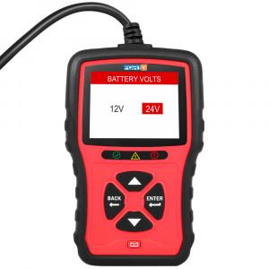 Teste de Bateria Digital Automotivo 12V/24V • FG101