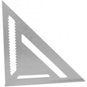 Esquadro Métrico Triangular Speed Square 25 x 60mm - FORTG • FG156