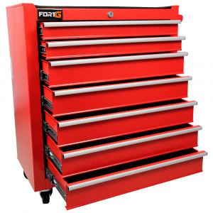 Carrinho Vermelho para Ferramentas com 7 Gavetas e Kit de 67 peças • FG8843
